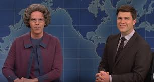 Thanksgiving Snl Skit Saturday Night Live U0027 Brings Back The Church Lady With Guests The