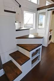 Mint Tiny Homes Custom Mobile Tiny House With Large Kitchen And Two Lofts