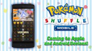 pokémon shuffle sur ios et android vidéo dailymotion