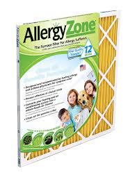 Filtrete Healthy Living Ultra Allergen Reduction Ac Furnace Air Amazon Com Allergyzone Az16251 Air Filter For Allergy Sufferers