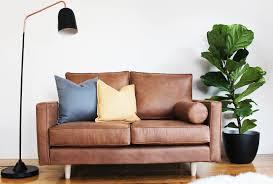 Vegan Leather Sofa The Mood Store Vegan Leather 2 Seater