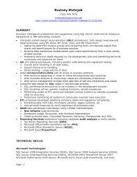 sql developer resume samples exol gbabogados co