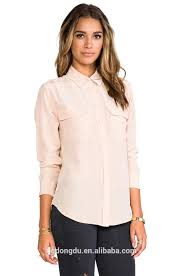 business casual blouses modern chiffon blouse office shirts