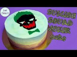 how to make squad joker cake youtube cake pinterest