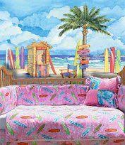 Beach Themed Bedrooms For Girls Beach Theme Bedroom Girls Surfing Beach Bedroom Decorating Ideas