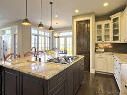 appliance kitchen colors with dark floors hickory floors cherry