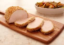 mustard herb crusted pork loin roast pork recipes pork be inspired