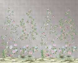 Non Permanent Wall Paper Affordable Temporary Chinoiserie Wallpaper Vogue
