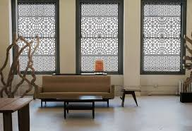 install modern window treatments for protection against sun and