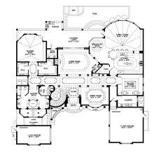 mediterranean style floor plans mediterranean style house plan 5 beds 550 baths 6045 sq house
