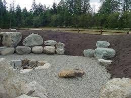 144 best boulder landscaping on a slope images on pinterest