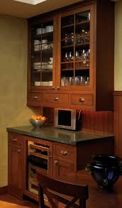 Corner Kitchen Wall Cabinet by How To Incorporate Wine Chiller With Cabinets Custom Cabinetry