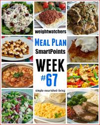 cuisine weight watchers 113 best weight watchers meal plans images on weight