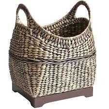 saigon brown wicker basket pier 1 imports