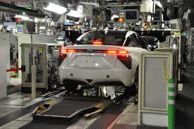 visit lexus factory japan behind the scenes of toyota mirai production only 3 made per day