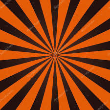 halloween abstract grunge sunbeam background in halloween traditional colors orange