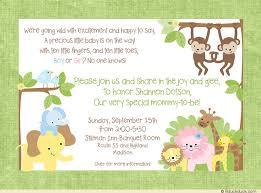 gender neutral baby shower jungle baby shower invitation animals gender neutral