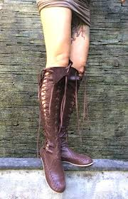 s boots knee high brown leather boots brown knee high leather boots for gipsy dharma