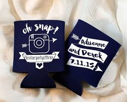 wedding koozie favors 400 best koozies wedding party favors images on