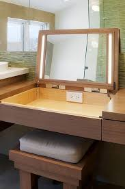 Best  Contemporary Makeup Mirrors Ideas On Pinterest - Brilliant bathroom vanity light with outlet residence
