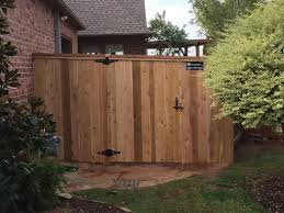 increase your property value by installing new a new fence fence okc