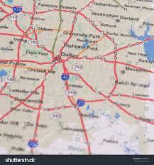 Dallas Area Map Shallow Dof Dallas On Map Texas Stock Photo 551998132 Shutterstock
