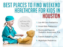 night light pediatrics sugar land best places to find weekend healthcare for kids in houston