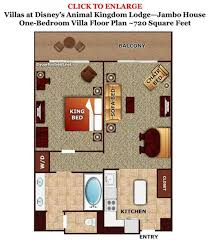 disney saratoga springs treehouse villas floor plan the living dining kitchen space at the treehouse villas at