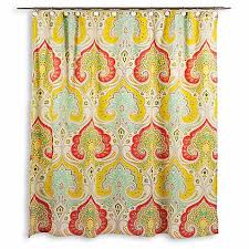 Echo Design Curtains Echo Design Jaipur Fabric Shower Curtain Bed Bath Beyond