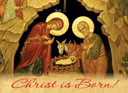 christmas cards christ is born orthodox books in australia