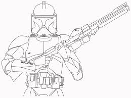 Perfect Star Wars Clone Trooper Coloring Pages 3613 Unknown Wars Clone Coloring Pages