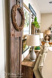 Sofa Table Ideas How To Build A Rustic Sofa Table Worthing Court