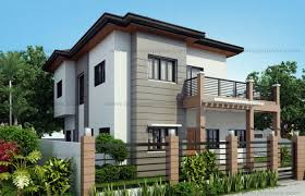 two storey house 50 images of 15 two storey modern houses with floor plans and