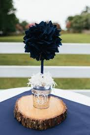 Graduation Party Centerpieces For Tables by Navy Blue Centerpiece Wedding Centerpiece Unique Baby Shower