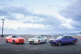 camaro vs challenger vs mustang what s the best v 8 car for 2016 cars com