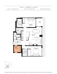 floor plans the davies luxury condo