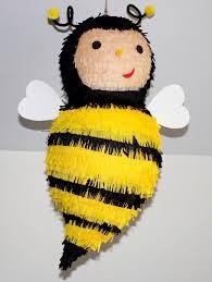 bumble bee pinata honey bee pinata birthday handmade yellow beehive party decor