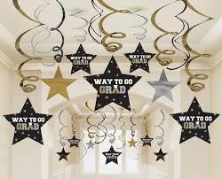 graduation decorations home u003e graduation star swirl decorations
