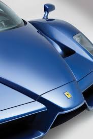 blue ferrari blue ferrari enzo a 2 4 million bargain at auction
