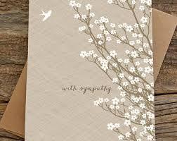 condolences card sympathy cards etsy