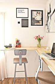 Small Space Desk Ideas Wall Mounted Corner Desk Small Space Solutions The Wall Mounted