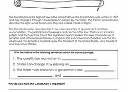 4th grade civics u0026 government worksheets u0026 free printables