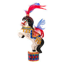 radko ornaments animal circus ornament to the crowd