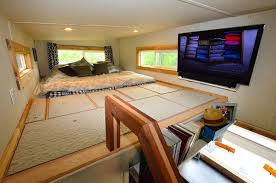 tiny cabin on wheels tiny house on wheels with indooroutdoor entertaining spaces houses