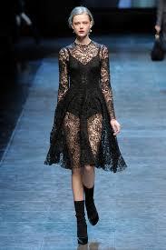 black lace dolce gabbana aw10 colours black pinterest