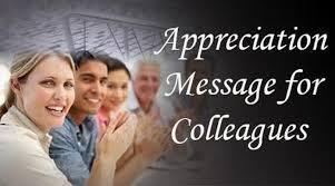 appreciation messages to colleagues appreciation quotes