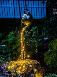 Solar Lights For The Garden Diy Spilling Solar Lights Teapot Lights The Navage Patch