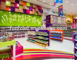 wholesale candy factory wholesale candy shop interior design with display shelves