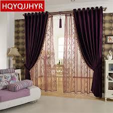 Modern Curtains For Kitchen by Online Get Cheap Purple Kitchen Curtains Aliexpress Com Alibaba