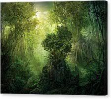 Landscape Canvas Prints by Fantasy Landscape Canvas Prints Fine Art America